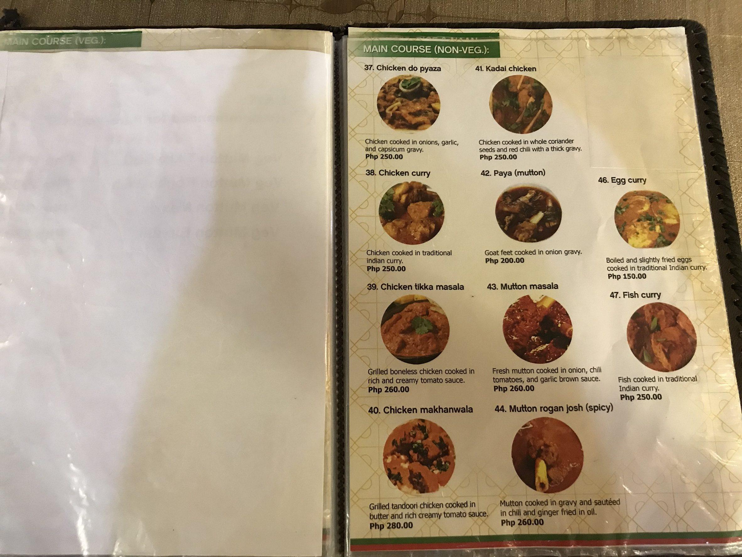 セブ島で本格インド料理を食べよう!