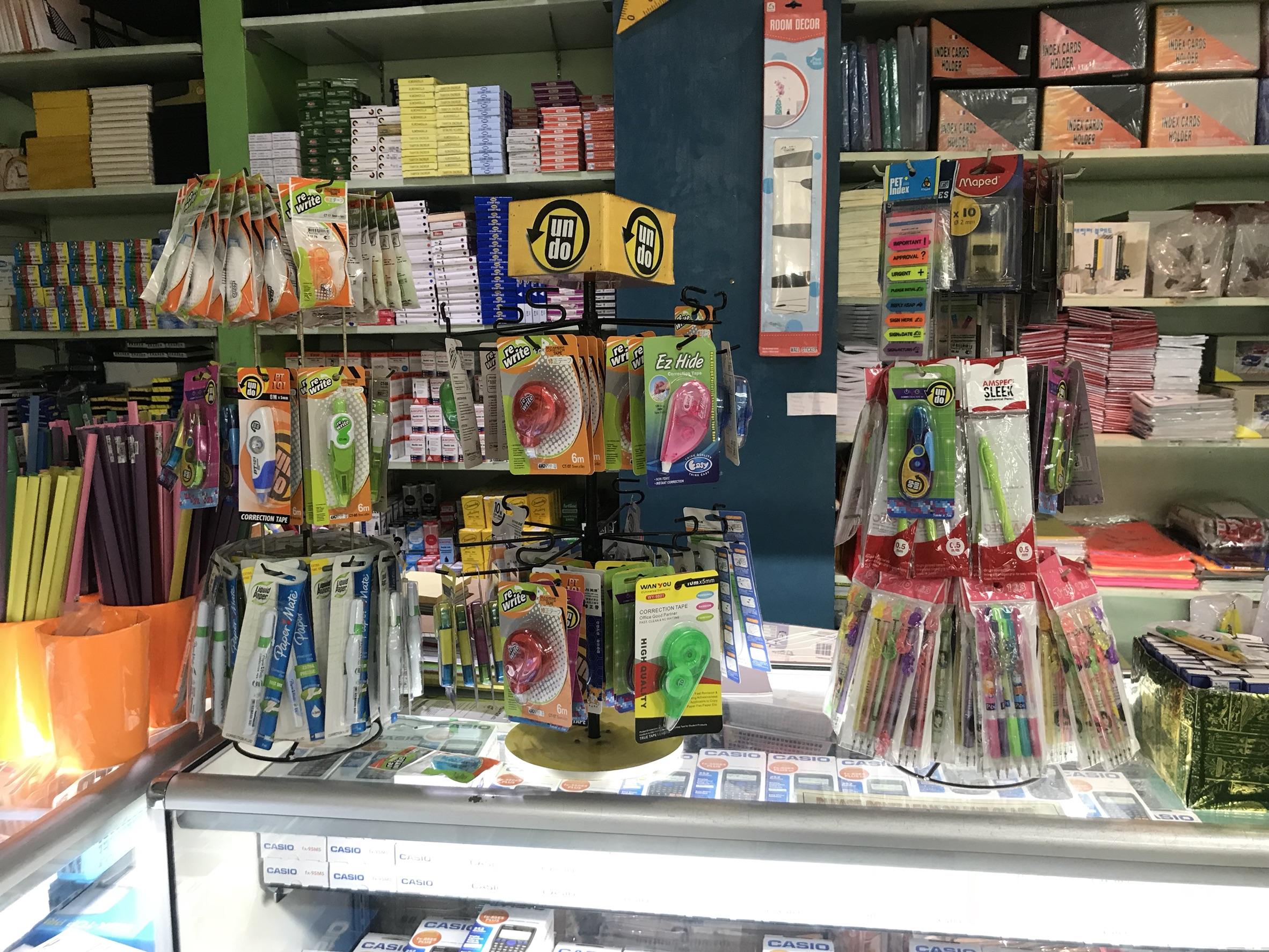 セブ島でも留学に必要な文房具買えます!