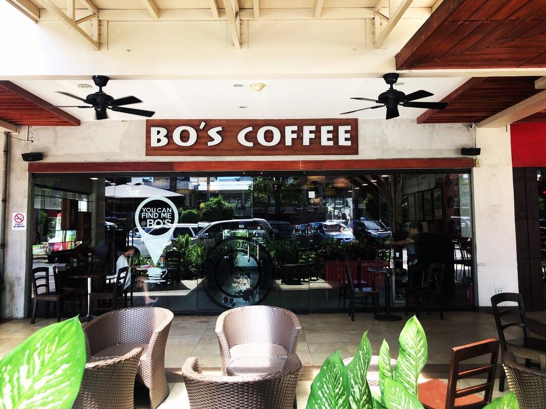 フィリピン産のコーヒーが飲めるBo's Coffee