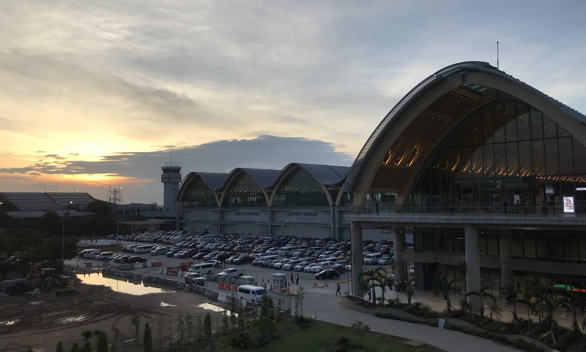 マクタンセブ国際空港新ターミナル2オープン~出国編~