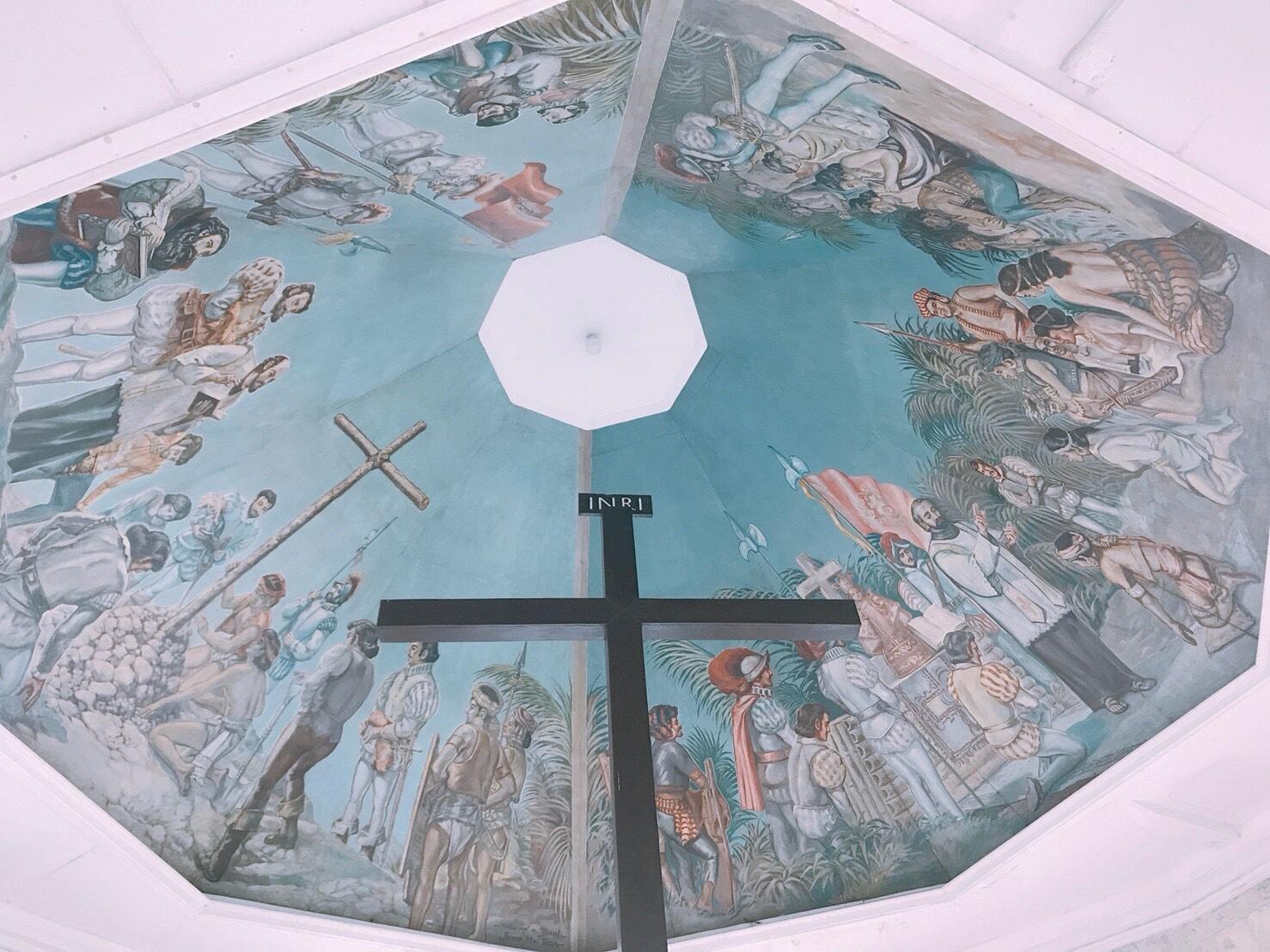 天井画が素晴らしい「マゼラン・クロス」へ行こう!