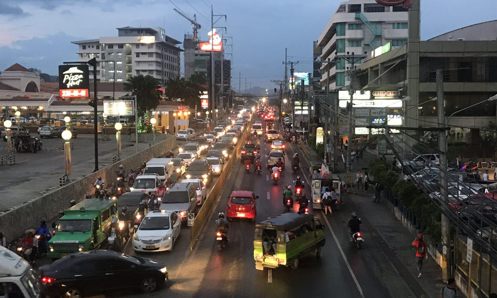 日本とは異なるセブ島の交通事情