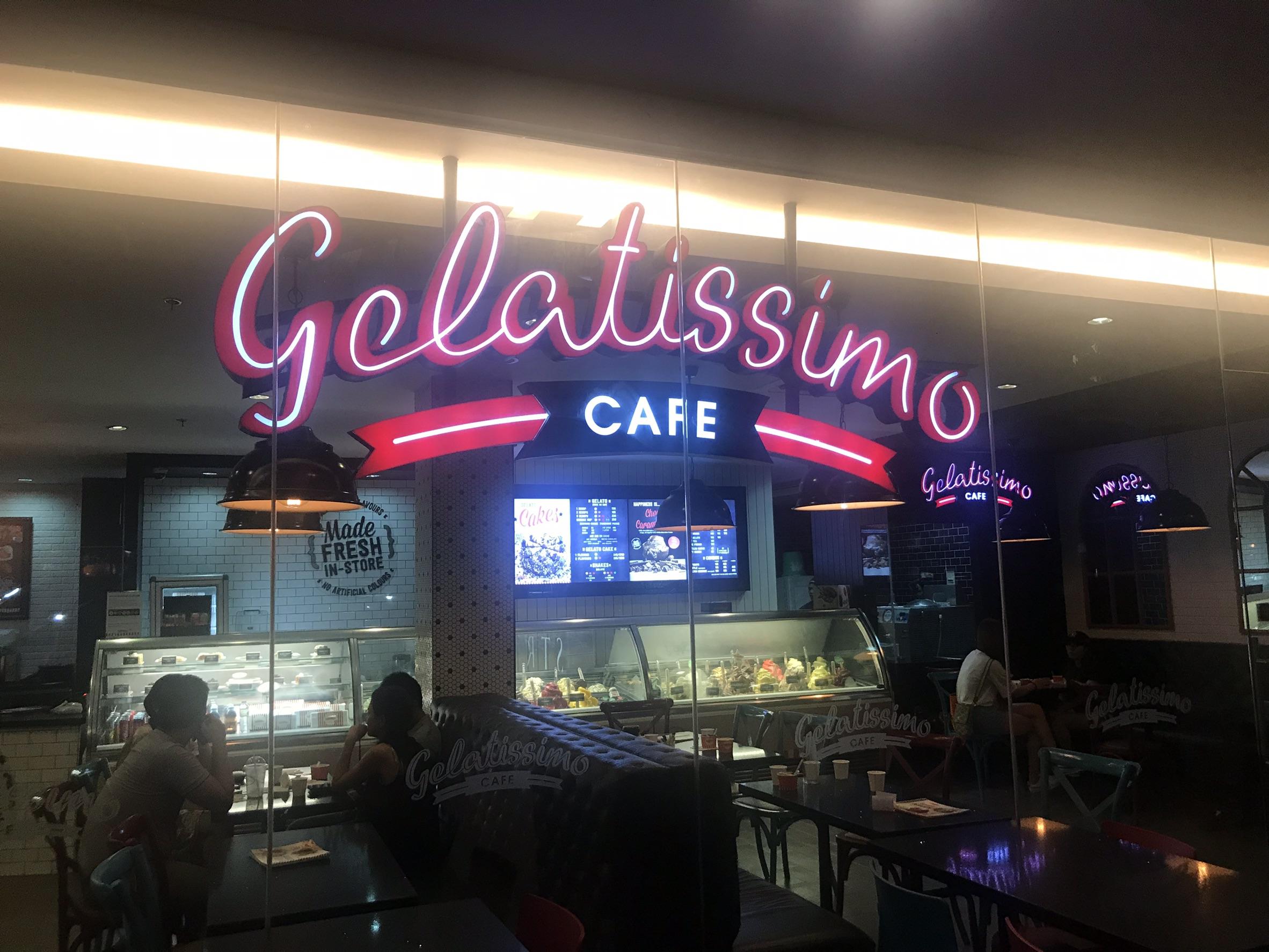 セブ島で本格ジェラートが食べれる「Gelatissimo」