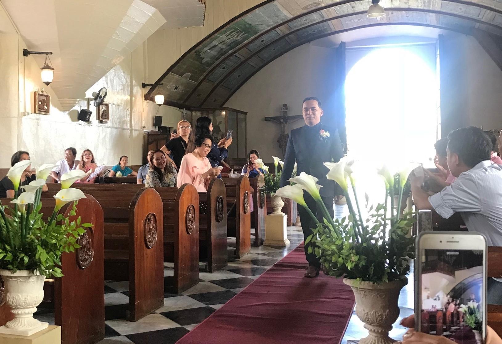 フィリピンの結婚式に出席させて頂きました♪