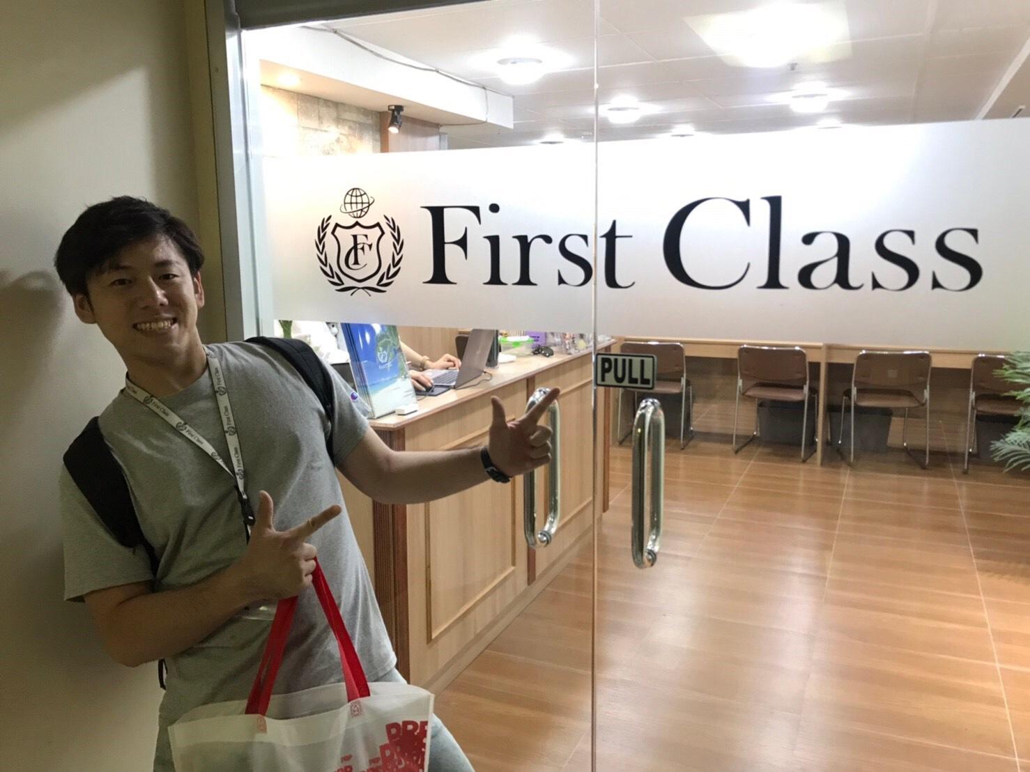 「First Class卒業生インタビュー」~ヒロキチくん~