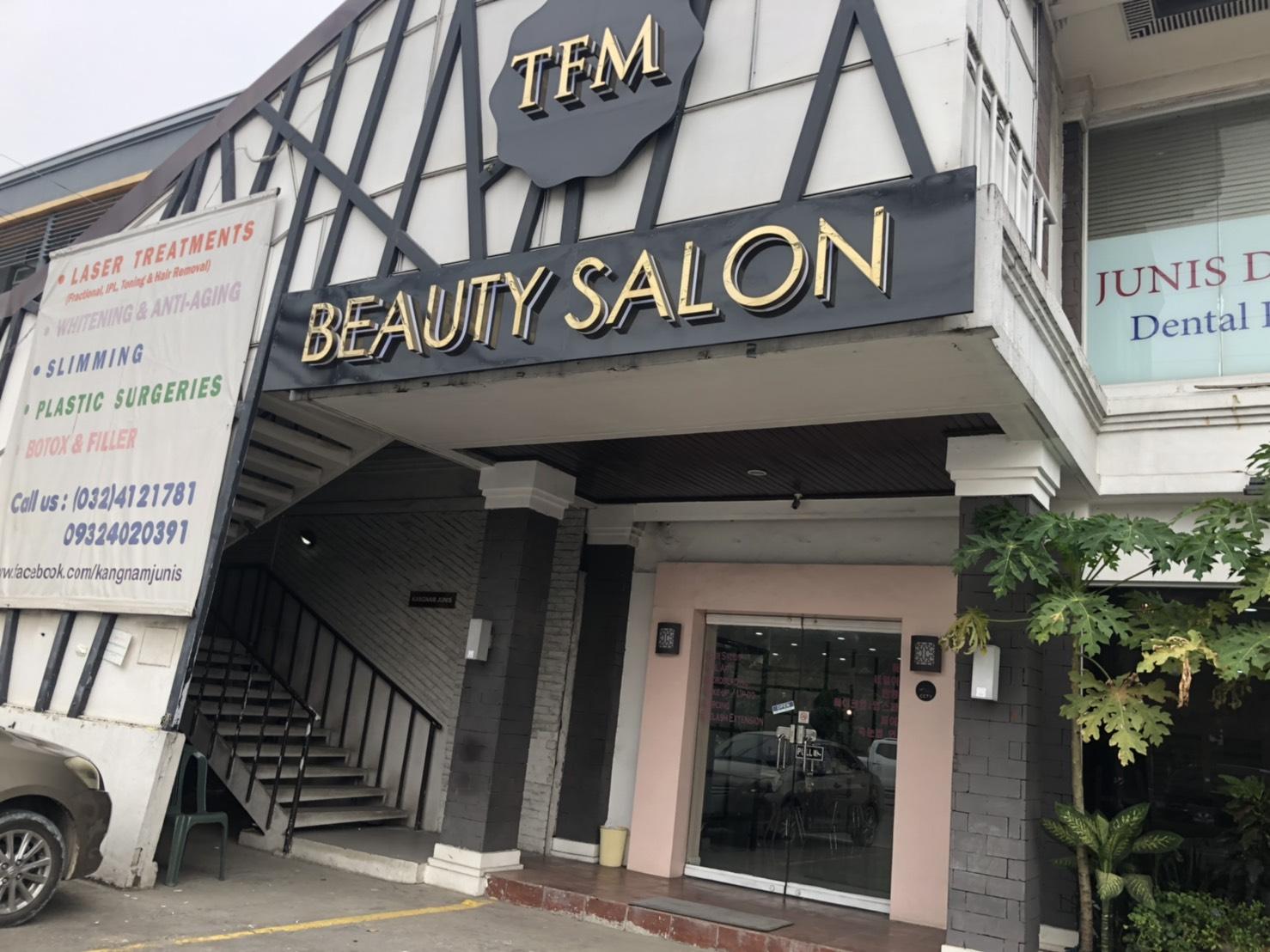 セブ島でアートメイクをするなら「TFM BEAUTY SALON」